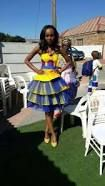 Image result for venda traditional wedding dresses Tsonga Traditional Dresses, Traditional Wedding Dresses, African Clothes, Silhouette, Weddings, Image, Google Search, Bodas, African Wear