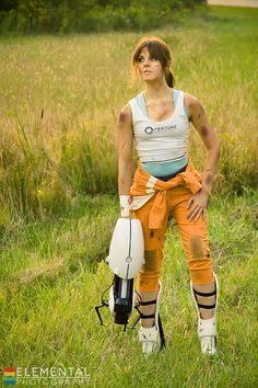 Chell #Cosplay from Portal | Freedom by MangoSirene.deviantART.com