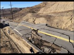 Watch Landslide Buckles Vasquez Canyon Road - YouTube
