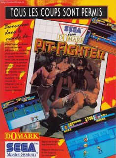 Pub / Pit Fighter / Master System / France