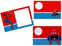 Spiderman Party: Free Printable Invitations.