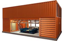 Container House - cargo house two story-how to: Buying, Designing Building Cargo Container Homes - Who Else Wants Simple Step-By-Step Plans To Design And Build A Container Home From Scratch? Container Home Designs, Cargo Container Homes, Building A Container Home, Container Cabin, Shipping Container Buildings, Shipping Container House Plans, Shipping Containers, Container Architecture, Architecture Design