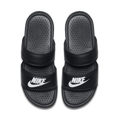 Get a lightweight, secure fit with these women's Nike Benassi Duo Ultra slide sandals. Nike Benassi Slides, Nike Benassi Duo, Nike Slide Sandals, Sport Sandals, Women Sandals, Shoes Women, Ladies Shoes, Sneakers Women, Summer Sandals