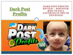 The fence about obtaining Dark Post Profits Bonus focused on instructing you the best ways to market anything in the Facebook Newsfeed, from t-shirts, to biz-ops, to even actual estate offers! There's a lot of success testimonials also available on web. Check this link right here http://www.onlinerule.com/ for more information on Dark Post Profits Bonus.