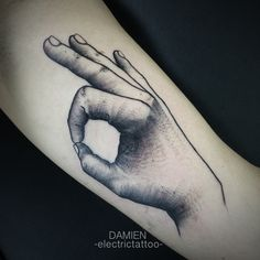 damien electric tattoo