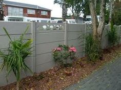 concrete fence panels - Google Search