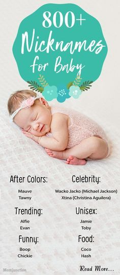 3ae2c608d962 Names   800 Cute Nicknames Or Pet  Names For  Baby  Boys And  Girls ...