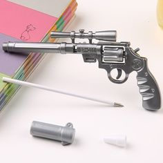 1PCS Ballpoint pen roscoe fiveshooter gun -  cute funny kawaii pens canetas rollerball pen school supplies papelaria #>=#>=#>=#>=#> Click on the pin to check out discount price, color, size, shipping, etc. Save and like it!