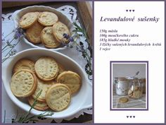 PASTU domov: Levandulové sušenky