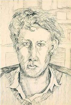Lucian Freud - 1939/40: Self-Portrait
