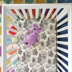Organic Illustrated Cactus Baby Bedding – Peapod and Nate Safari Theme Nursery, Boho Nursery, Nursery Themes, Girl Nursery, Nursery Decor, Floral Nursery, Baby Bedding, Baby Crib Sheets, Organic Cotton Sheets