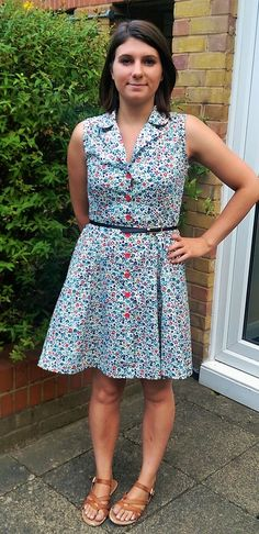 Emily Kate Makes...: Vintage Shirt Dress Pattern from Sew Over It