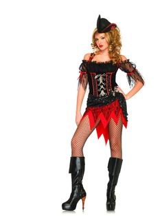 Leg Avenue Ms.Davy Jones Costume £53.99 : Direct 2 U Fancy Dress Superstore. http://direct2ufancydress.com/leg-avenue-msdavy-jones-costume-p-3058.html