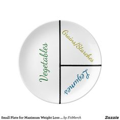 Small Plate for Maximum Weight Loss (Porcelain)
