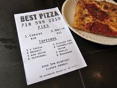 [Photographs: Adam Kuban] Best Pizza 33 Havemeyer Street, Brooklyn NY 11211 (North 7th/North 8th streets; map); 718-599-2210; best.piz.za.com Getting there: Closest train station is Bedford Avenue L train Pizza style: Somewhere between New York–style and Neapolitan-American Oven type: Wood-fired oven cooks the pizza, with reheats done in a small gas-fired oven The skinny: Backed by the folks behind Brooklyn Star and Roberta's, Best Pizza makes use of an old bakery oven to make some really…