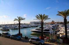 A maior marina de Portugal localiza-se no Algarve / The largest marina in Portugal is located in the Algarve