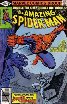 The Amazing Spider-Man #200 - The Spider and the Burglar...A Sequel