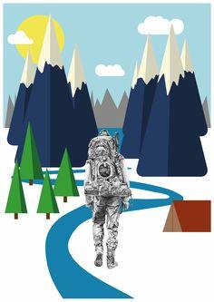 Hiker - Lindsay Lombard