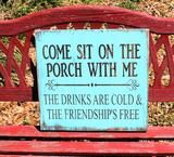 front porch sign