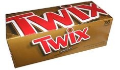 Twix-Chocolate Caramel Cookie Bars, 36ct: Amazon.com: Grocery & Gourmet Food