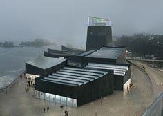Het nieuwe Guggenheim in Helsinki is een prachtige zwarte vuurtoren | The Creators Project