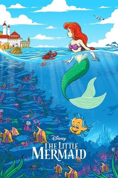 The Little Mermaid: Disney Limited Edition Art Print | Print | Free shipping over £20 | HMV Store