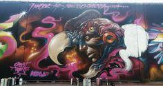 HUMONE SINFRONTERAZ  Graffiti México-Bolivia  STREET MARKA  CONDOR...  2017