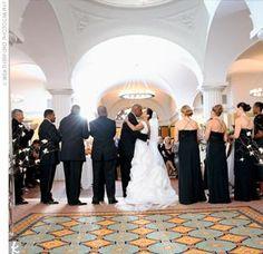 hotel monaco DC wedding ceremony