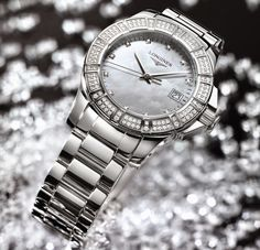 Online platform to discover information on latest watch models, trends and happenings from the luxury watch and related industries. Fashion Watches, Women's Fashion, Latest Watches, Watch Model, Rolex Watches, Lust, Bracelet Watch, Editorial, Jewellery