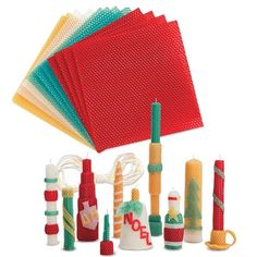Bring the holiday spirit to your craft table with our pure Beeswax Candle Rolling Kit. Taper Candles, Beeswax Candles, Charitable Donations, Holiday Candles, Google Shopping, Family Gifts, Craft Kits, Candle Making, Triangle