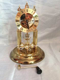 vintage elgin s haller 400 day anniversary clock from west germany anniversaries  clock and Rock Collection Evidence Collection