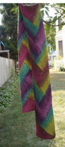 Pioneer Braid Scarf Specifications: As written, requires approximately 300 yards (272m) of worsted weight yarn (approximately 20 stitches per 4 inches/20 cm in stockinette stitch) to make a scarf…