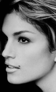 Cindy Crawford...Little Gia she was called when she first started modeling. You can see for yourself...Bella Donna