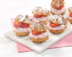 Helpot tuulihatut, gluteeniton Finnish Recipes, Something Sweet, Sweet Desserts, Desert Recipes, Gluten Free Recipes, Food Inspiration, Sushi, Bakery, Cheesecake