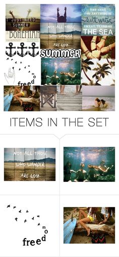 """SUMMER"" by catherine0516 ❤ liked on Polyvore featuring art"