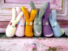 Tutorial Tuesday: knitted rabbits - Mollie Makes