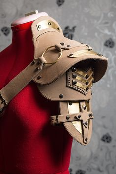 Steampunk shoulder pad WIP by LahmatTea.deviantart.com on @DeviantArt