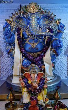 Blue Ganesha.......
