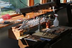 leather work studio - Google Search
