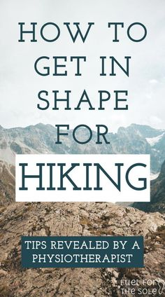 Hiking Training Basics: How to Train For Backpacking and Thru Hikes - Fuel For The Sole Travel, Outdoor & Adventure Are you planning a long hike, thru hike, camping trip or multi-day overnight backpac Backpacking Tips, Hiking Tips, Hiking Gear, Hiking Backpack, Hiking Boots, Travel Backpack, Backpacks For Hiking, Hiking Europe, Workout Exercises