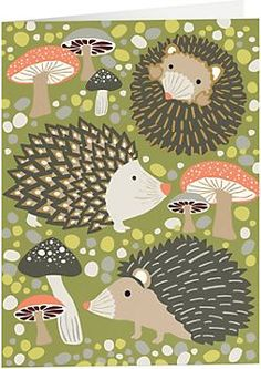 Hedgehog Pocket Folders