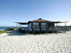"""Restaurante Sal on Praia do Pego, in Comporta, Alentejo was chosen as """"Best Beachside Cafe in the World"""" by Condé Nast Traveler readers 19.06.2015   Fresh fish, Portuguese picanha, and fruity sangria abound at this Pego Beach hot spot, which reader @elizabrooks calls """"paradise in the Alentejo."""" #portugal #travel"""