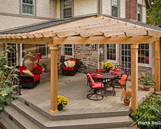 Patio Roofs Design, Pictures, Remodel, Decor and Ideas - page 7