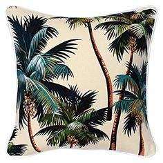 Palm Tree Cushion by Escape to Paradise