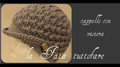 Tutorial: cappello visiera all'uncinetto