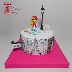 https://flic.kr/p/DiALTp | Paris Girl Cake – Pariz torta za devojcice by Balerina torte Jagodina | Paris Girl Cake – Pariz torta za devojcice by Balerina torte Jagodina