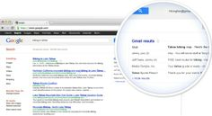 Google Incorporating Gmail Into Search Results