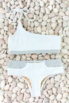 9d62c8e466842 Made by dawn CORAL TEXTURED BIKINI BOTTOM - ShopStyle Two-Piece