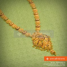 Gold Jewelry Design In India Gold Bangles Design, Gold Earrings Designs, Gold Jewellery Design, Necklace Designs, Gold Jewelry For Sale, Gold Jewelry Simple, Gold Mangalsutra Designs, Jewelry Patterns, Gold Necklace