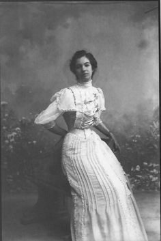 Afro-Mexican Young Woman, Guanajuato, 1910, Romualdo García